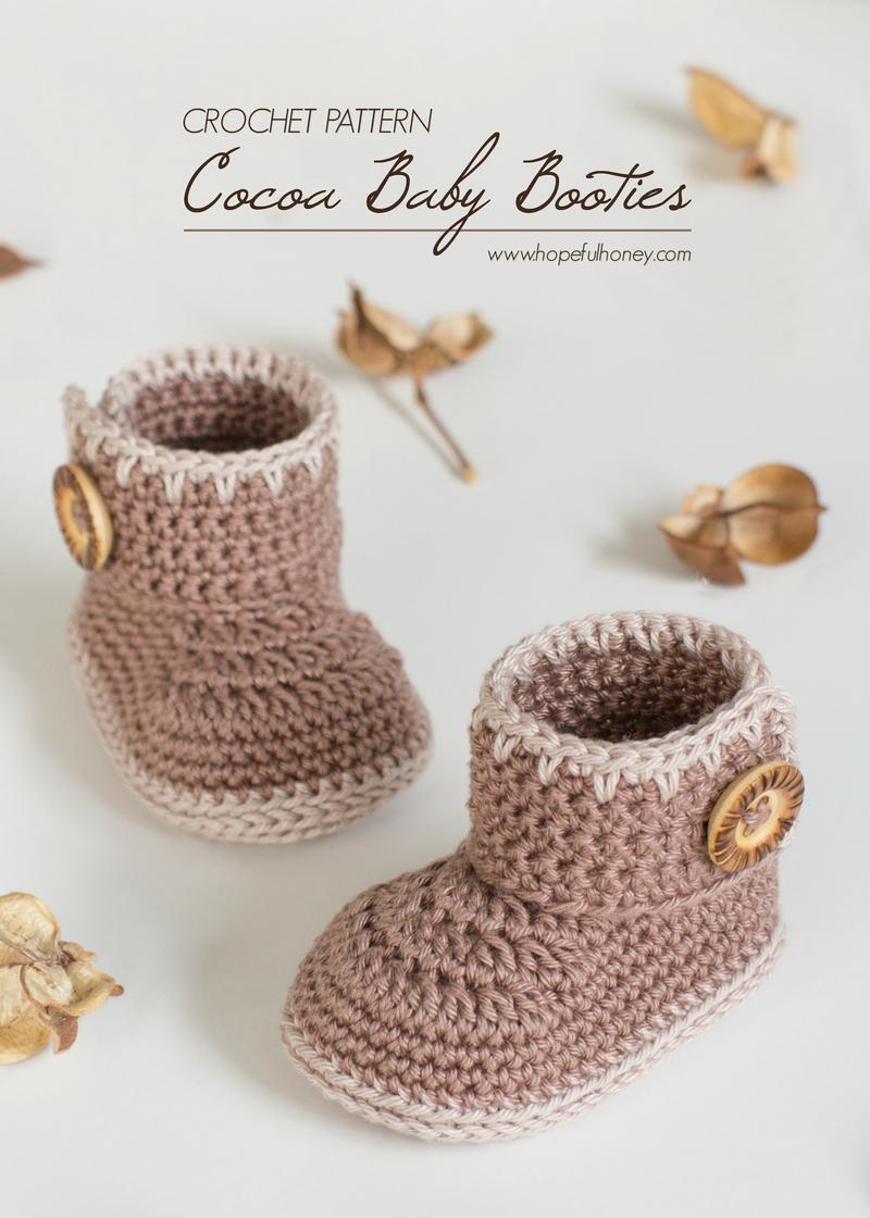 30 DIY Cute Crochet Booties Free Patterns For Babies DIY  DIY