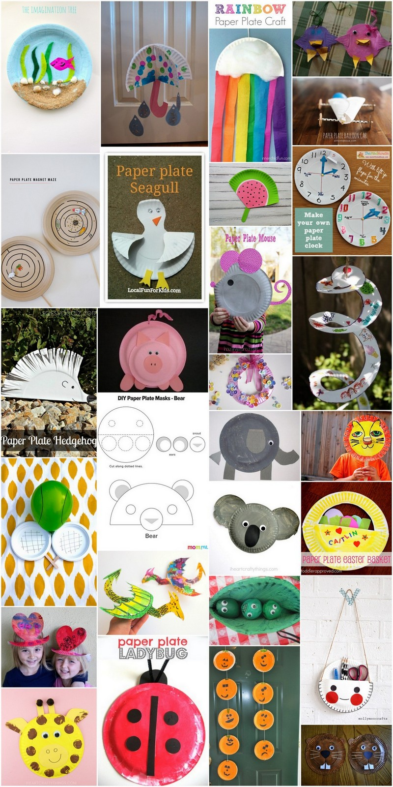 30 Easy Diy Craft Ideas Using Paper Plates Diy Easy Crafting Ideas And Plans